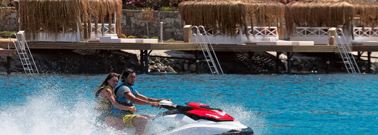 water sports at sianji wellbeing resort turkey