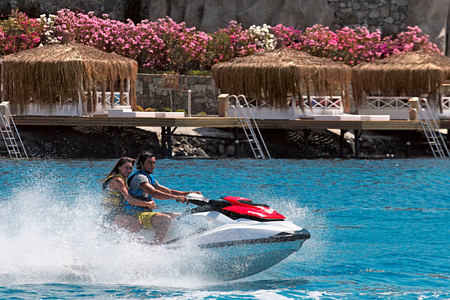 water sports at sianji wellbeing resort turkey