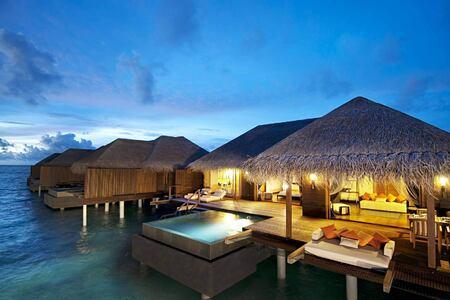 water villas at Bandos Island Resort Maldives
