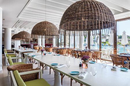 whale restaurant at vila vita parc hotel portugal