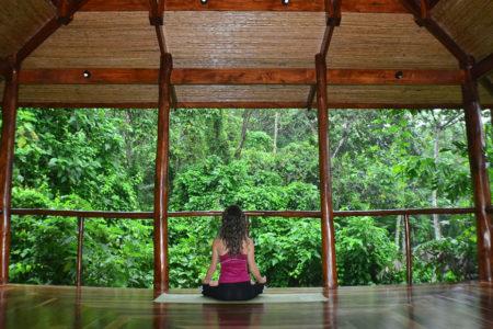 yoga at nayara springs hotel costa rica