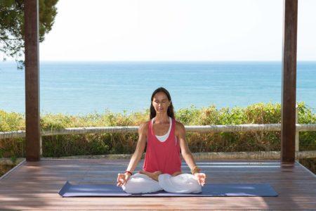 yoga at Pine Cliffs