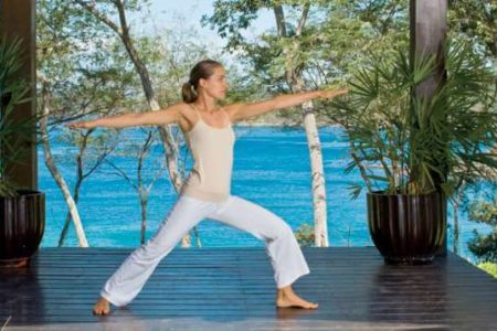 yoga deck at four seasons paypagayo resort costa ricca