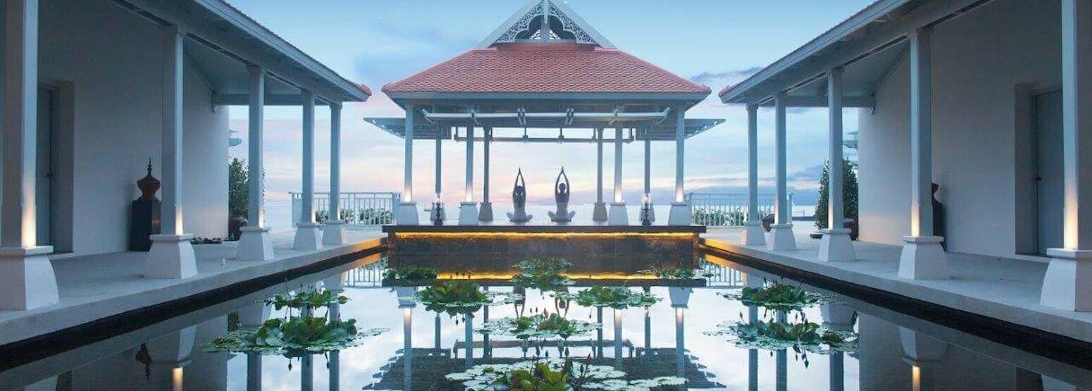 yoga sala at amatara wellness resort thailand