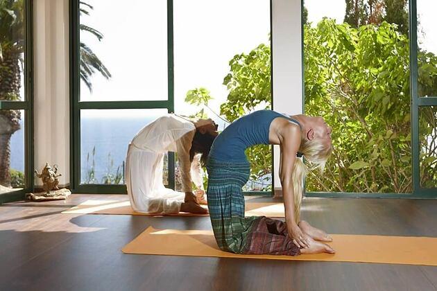 yoga studio at Gaolosol Resort Madiera