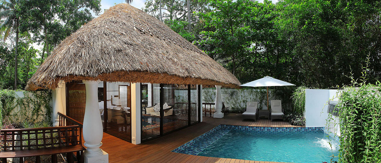 zukra pool villa at Carnoustie Ayurveda & Wellness Resort