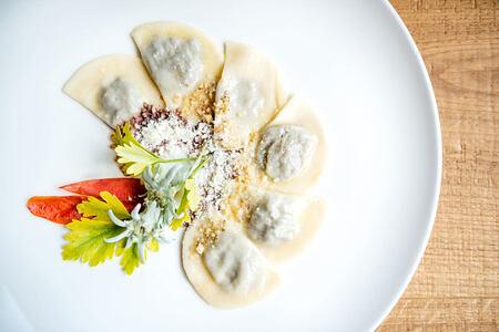 A delicious meal at Hotel La Majun Italy