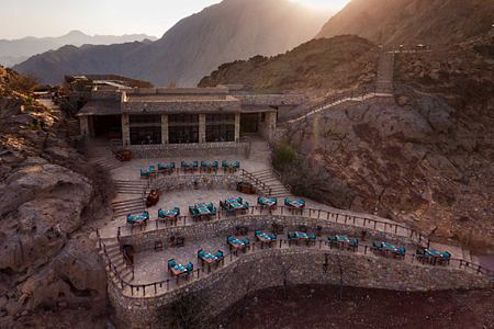 Aeria view of Six Senses Zighy Bay Oman