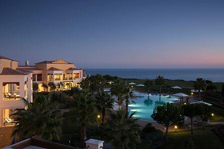Aerial view at Cascade Resort Algarve Portugal