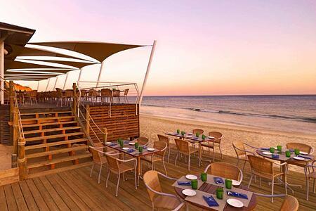 Beach Club Restaurant at Pine Cliffs, Portugal