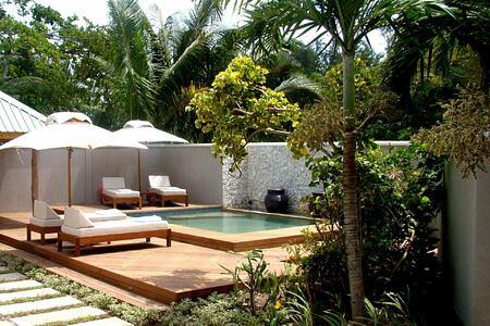 Beach Villa Pool at Denis Private Island Seychelles