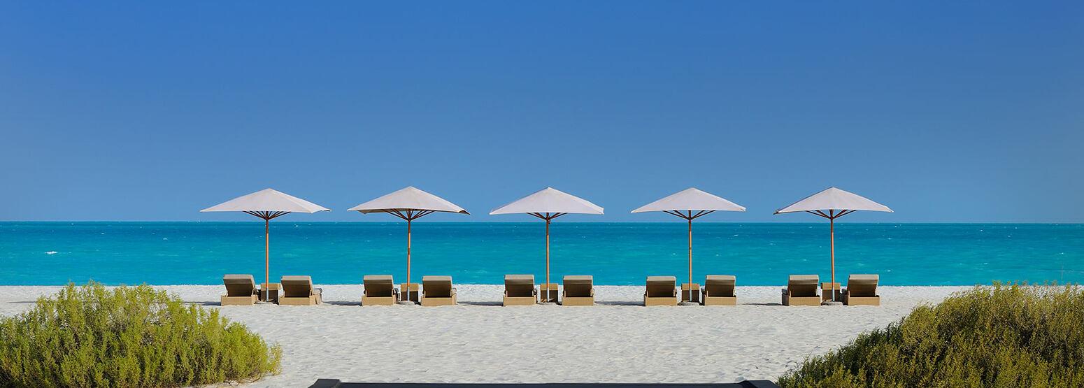 Beach at the Park Hyatt Abu Dhabi