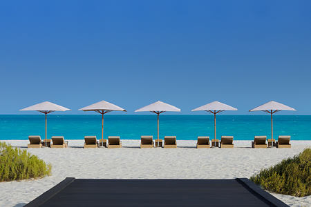 Beach at the Park Hyatt Abu Dhabi