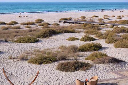 Beach view at the Park Hyatt Abu Dhabi