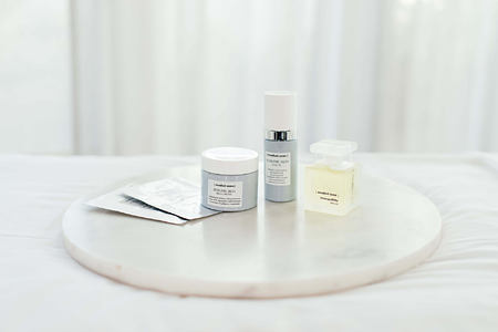 Beauty products at Cape Grace Hotel South Africa