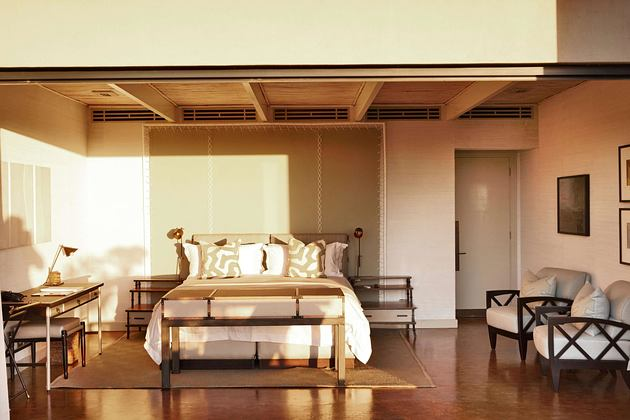 Bedroom at Delaire Graff South Africa