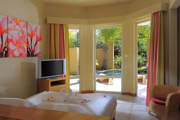 Bedroom at Le Mauricia Mauritius