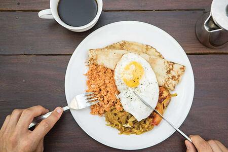 Breakfast at Talalla Retreat Sri Lanka