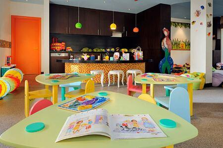 Camp Hyatt Kids Club at the Park Hyatt Abu Dhabi