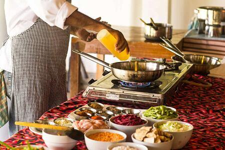 Curry Cooking Lesson at Talalla Retreat Sri Lanka