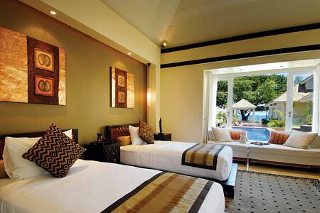 Double Pool Villa at Banyan Tree Seychelles