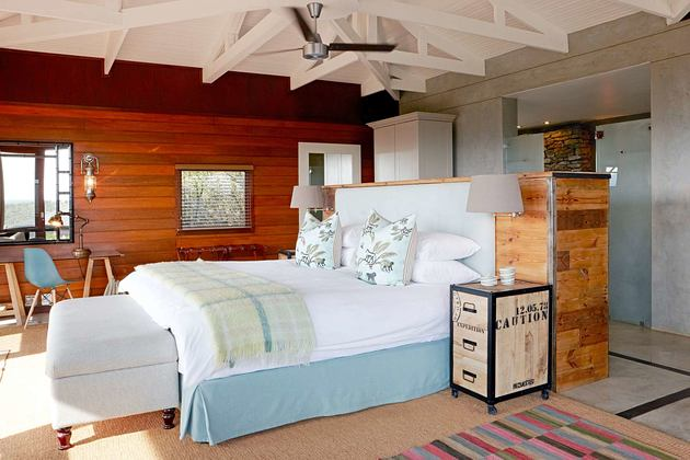 Ecca Lodge suite at Kwandwe South Africa