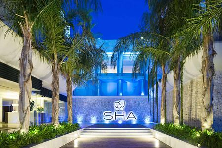 Entrance at SHA Wellness Spain