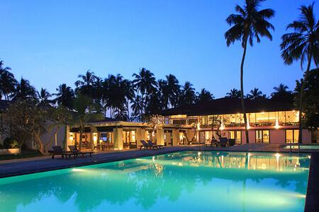 Evening View of the Avani Kalutara Sri Lanka
