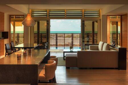 Executive villa at the Park Hyatt Abu Dhabi