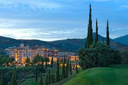 Exterior by Night at Villa Padierna Spain