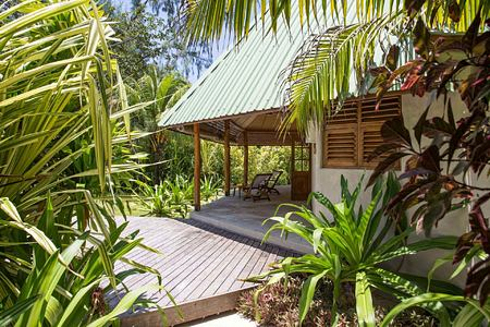 Exterior of Beach Cottage at Denis Private Island Seychelles