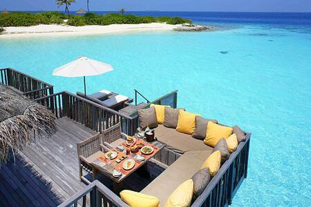 Family Villa Sun Deck at Gili Lankanfushi Maldives