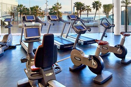 Fitness Room at W Barcelona Spain