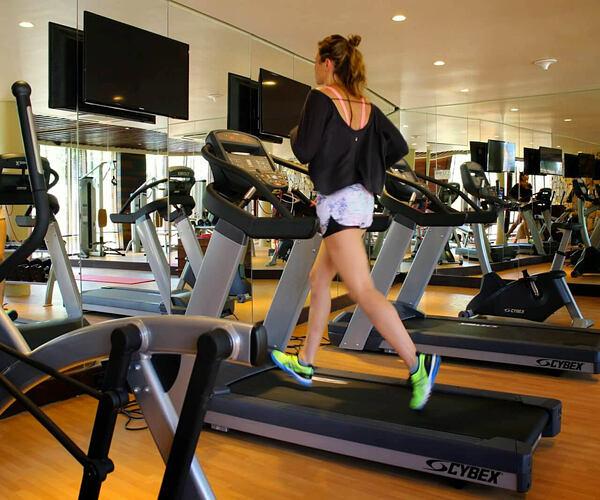 Fitness room at Cape Weligama Sri Lanka