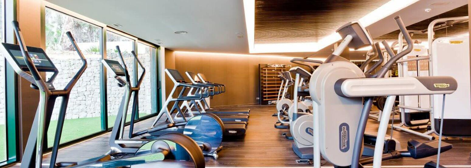 Fitness room at SHA Wellness Spain
