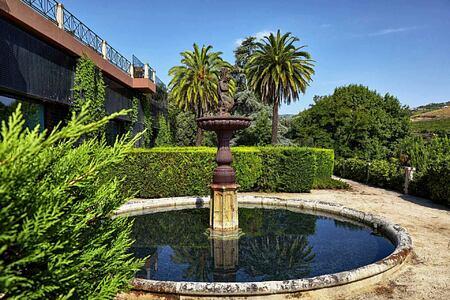 Fountain at Six Senses Douro Valley Portugal