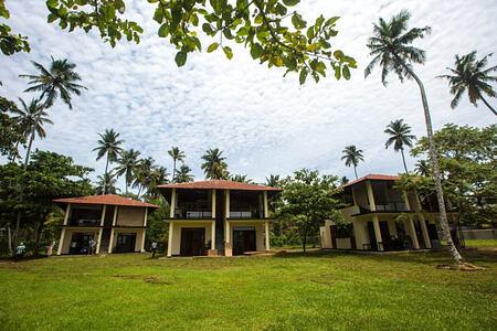 Front view of Talalla Retreat Sri Lanka