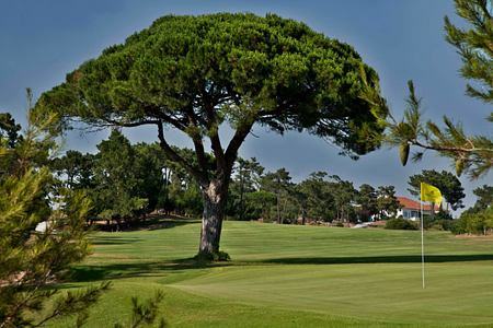 Golf course at Palacio Estoril, Portugal