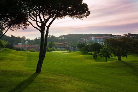 Golf course at Penha Longa, Portugal