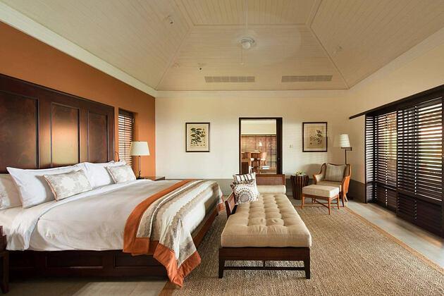 Grand ocean residence bedroom at Cape Weligama Sri Lanka