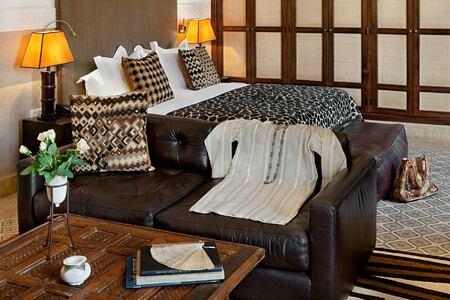 Grande ste terrasse room at Villa des Oranges Morocco