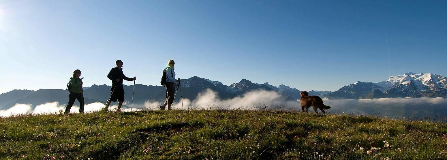 Hiking at The Lodge Switzerland