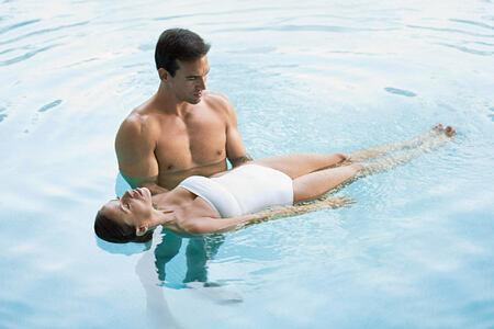 Hydrotherapy at Marbella Beach Club Spain