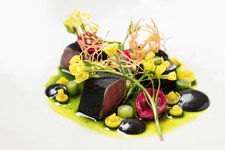 Indochine food at Delaire Graff South Africa