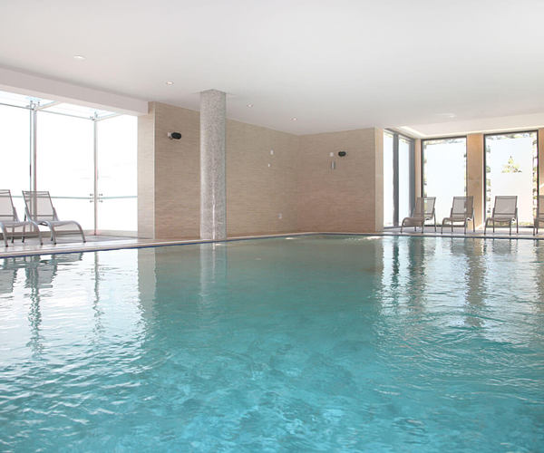 Indoor swimming pool at Palacio Estoril, Portugal