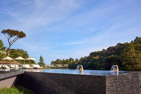 Infinity Pool at Penha Longa, Portugal