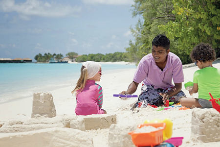Kids Club at Hideaway Beach Resort Maldives