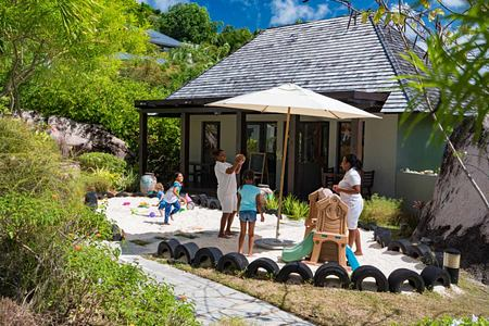 Kids Club at Raffles Praslin Seychelles