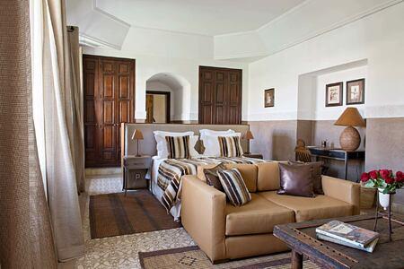 Large suite with private terrace at Villa des Oranges Morocco