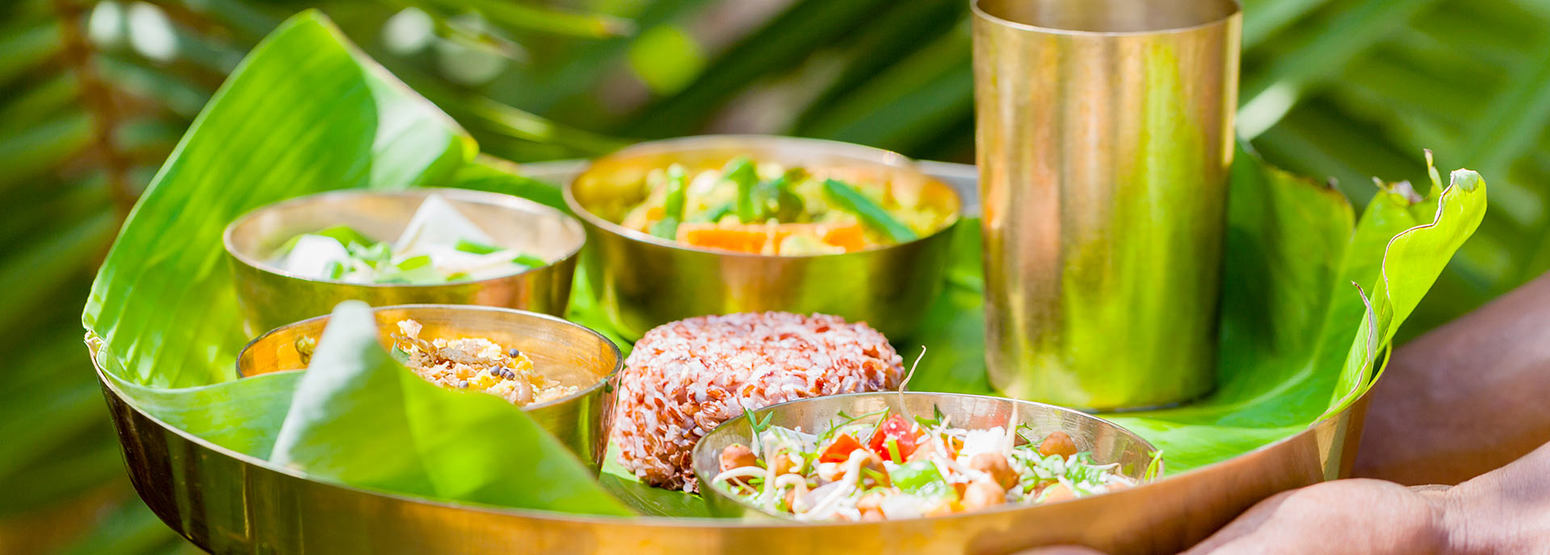 Local colourful cuisine at Swa Swara India
